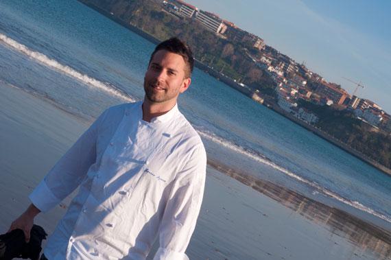 Javier Izarra, chef de Tamarises Restaurante