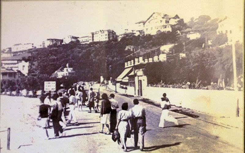 Los Tamarises hace 100 años