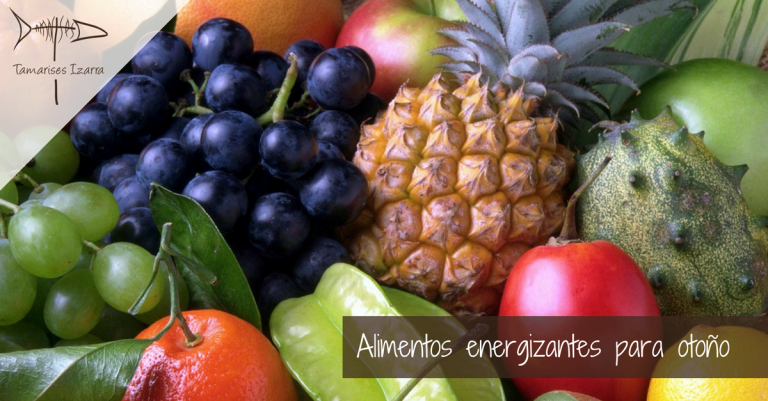 Alimentos energizantes para otoño