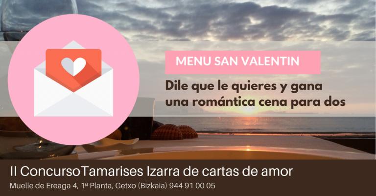 Concurso San Valentin Tamarises Izarra