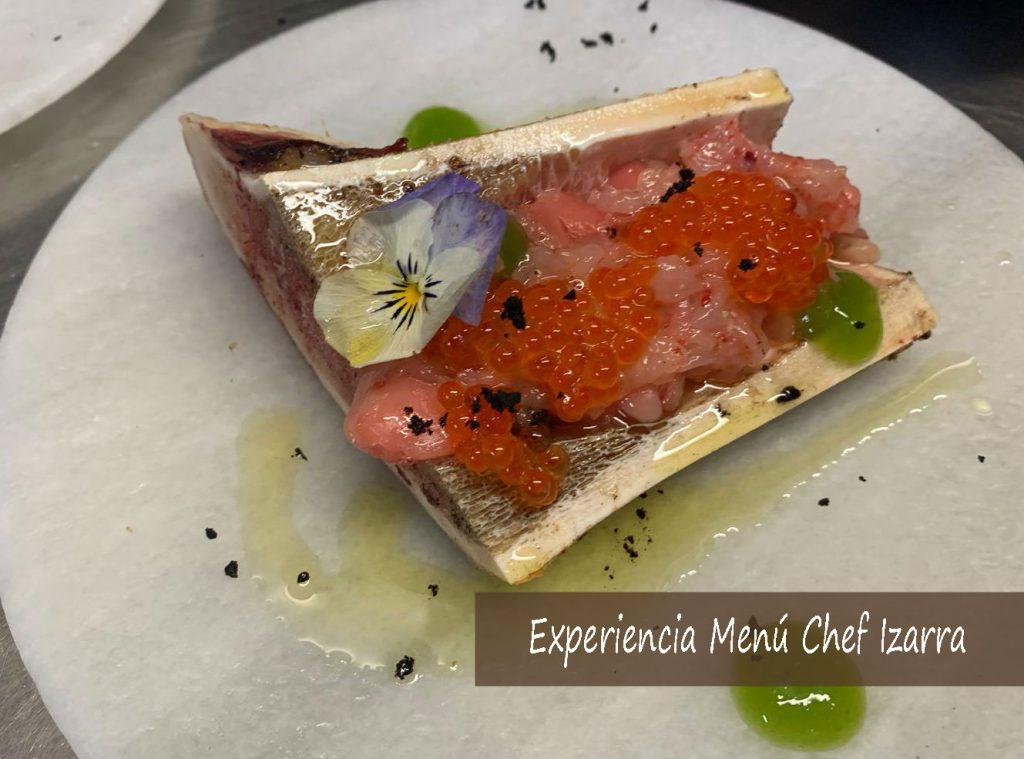 Experiencia para regalar Menú Chef Izarra en Restaurante Tamarises
